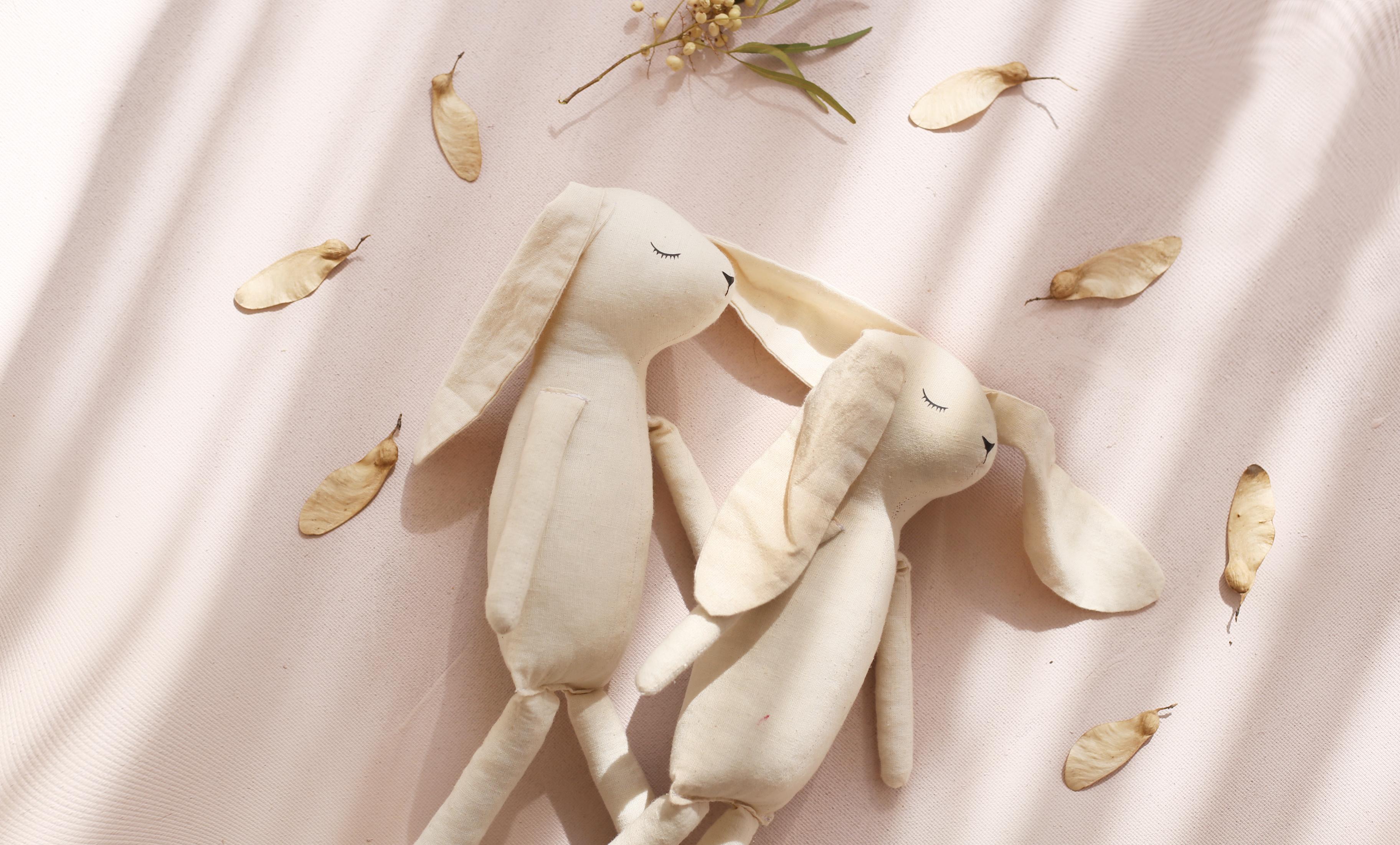 Charlie Loves Handmade Doll Bunny