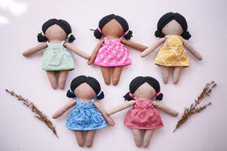 Charlie Loves Handmade Twinkle Tot Doll